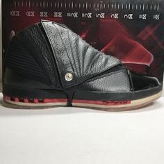 0b6c8e65c23277 DS Nike Air Jordan 16 XVI CDP Bred Size 8