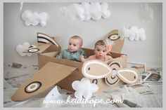 Birthday photography kids diy photo Ideas for 2019 Birthday Photography, Photography Props, Children Photography, Newborn Photography, Airplane Photography, Twin Pictures, Airplane Party, Birthday Pictures, Baby Kind
