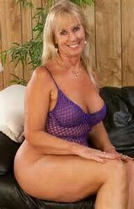 Sexy Granny in swimsuit