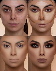 37 Easy Steps Makeup For Beginners To Make You Look Great After you master the step-by-step makeup tutorial you can begin experimenting with distinctive looks. Simple makeup advice for beginners inclu Make Up Tutorials, Makeup Tutorial For Beginners, Beginner Makeup, Minimal Makeup, Simple Makeup, Soft Makeup, Natural Makeup, Make Up Spray, Asian Makeup Trends