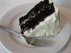 Chocolate Velvet Cake With Cream Cheese Icing