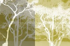 Trees Trees 1 via MuralsYourWay.com