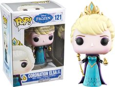 Frozen - Coronation Elsa with Orb - in my collection http://amzn.to/2ttYxpw