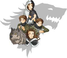 ASOIAF - Arya Stark by GabKT.deviantart.com on @deviantART