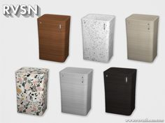 RAVASHEEN's Full Of It Smart Trash Can - Patterns Recolor Sims 4 Tsr, My Sims, Sims Cc, Resource Furniture, Sims 4 Cc Furniture, Sims 4 Cc Eyes, Muebles Sims 4 Cc, Sims 4 Kitchen, Sims 4 Black Hair