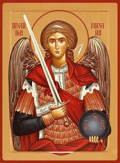 Icon of the Archangel Michael - c. Catholic Pictures, Jesus Pictures, Religious Icons, Religious Art, St. Michael, Saint Michael, Gabriel, Archangel Tattoo, Orthodox Prayers