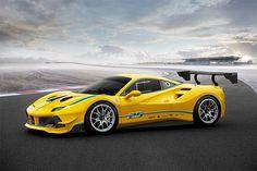 Ferrari 488 Challenge packs 3.9L Turbo V8