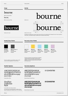 Style guides make me happy :) Bourne Style Guide