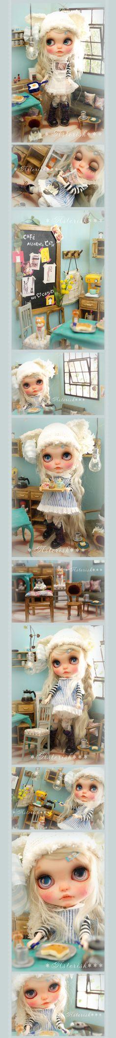 *カスタム ブライス Cafe Assorted Cats-Asterisk*** - Auction - Rinkya