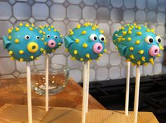 Puffer Fish Cake Pops                                                       …