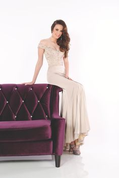 Evenings by Mon Cheri Style 11633 available at WhatchamaCallit Boutique