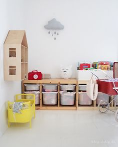 Creative Kids Rooms, Office Playroom, Future House, Toy Chest, Magazine Rack, Sweet Home, Storage Chest, Cabinet, Bedroom