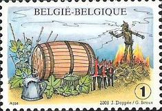 belgian stamps Folkore and Traditions. Hopduvelfeesten at Asse