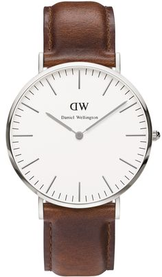 The Classic St. Mawes, an integral part of the flagship Classic Collection, is a slim timepiece that sits perfectly on your wrist. With a flawlessly round and simple dial, a classy leather band and an
