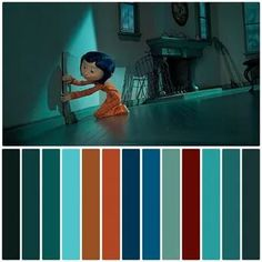 Orange Color Palettes, Blue Colour Palette, Movie Color Palette, Color In Film, Cinema Colours, Color Script, Disney Colors, Color Grading, Color Balance