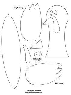 Turkey Feather Craft Template-- love this for Singing Time. Write something we are THANKFUL for on the feather and sing a song that relates! I printed a copy in 6 different colors so he'd have colorful feathers and am going to laminate them so I can use it for many years!