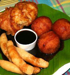 Nuegados Salvadorian desserts