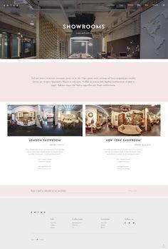 Create an exceptional interior design website with ease with Entré WordPress theme. #wordpress #webdesign #theme #layout #architecture #architect #interiordesign #decor #homedecoration #portfolio #furniture