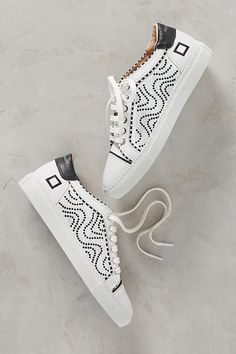 Slide View: 1: D.A.T.E. Beaded Fantasy Sneakers