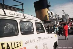 Falles Hire Cars, meeting the Mail boat in the early days.