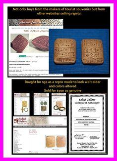 cuneiform That Look, Stuff To Buy