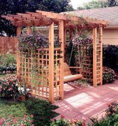 1000 images about garden pergola on pinterest pergolas for Garden getaway designs
