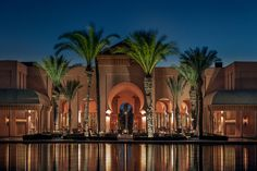 Great Places, Beautiful Places, Amazing Places, Spa Treatment Room, 5 Star Resorts, Luxury Wedding Venues, Marrakech Morocco, Rock Pools, Stunning View