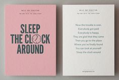 Sleep the Clock Around.
