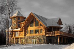 Luxury Log Homes