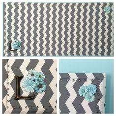 Clarke Seashells Mineral Seaside Hand Crafted Fabric Notice Pin Memo Board