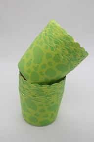 25 Green Greeseproof Paper Baking Cups,Cake Cups,Muffin Cups,Candy Cup,Nut Ice cream Treat Dessert Portion Cups, $3.99