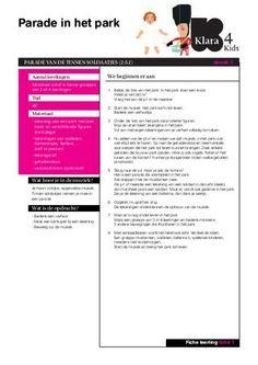 Poppen en Soldaatjes - Educatieve fiches leerlingen