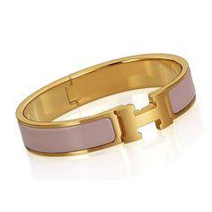 hermes bracelet pink