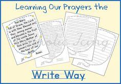 teaching catholic prayers to children