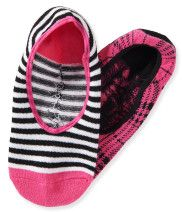 Kids' 2-Pack Plaid Stripe No-Show Socks PS From Aéropostale