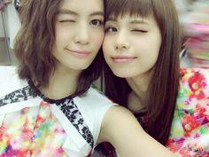 E-girls : 佐藤晴美ちゃん(右)が特に好きです。
