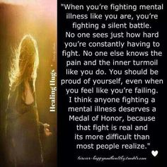When you're fighting...