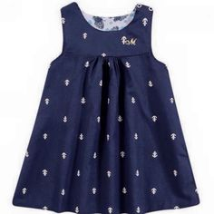 Anchor Navy Dress