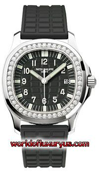 5067A-001 - This Patek Philippe Aquanaut Womens Watch, 5067A-001 features 35.2mm Stainless Steel case, Black dial, White seconds hands, Sapphire crystal, Fixed bezel, and a Rubber Black Strap. Patek Philippe Aquanaut Womens Watch, 5067A-001 also features Quartz Movement, Analog display, Date at 3 o'clock. This watch is water resistant up to 120m/360ft. - See more at: http://www.worldofluxuryus.com/watches/Patek-Philippe/Aquanaut/5067A-001/46_53_7946.php#sthash.T5yiiA7K.dpuf