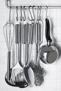 kitchen utensil hanger - Google Search