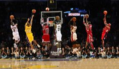best of the best nba ... Iverson, Kobe , Jordan, Wade , Lebron