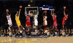 best of the best nba ... Iverson, Kobe , Jordan, Wade , Lebron, T Mac, Vince