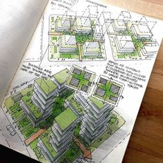 Urban Ideas, Conceptual Architecture, A Typical, Drawing Sketches, Drawings, Urban Planning, Plan Design, Home Projects, Repurposed