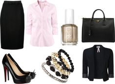 """Power Outfit: Business it is!"" by emmaalexandra21 ❤ liked on Polyvore"