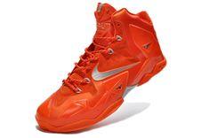 Nike LeBron X Galaxy Big Bang Total Orange Metallic Silver Nike Lebron, Lebron 11, Lebron James Images, Popular Shoes, Orange, Nike Huarache, Bigbang, Cleats, Hot