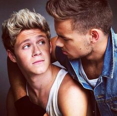 Unseen pic of Niall and Liam back from the Fabulous Magazine photoshoot 2013!