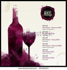 Restaurant Flyer Stock Photos Images Pictures Shutterstock - Wine tasting event flyer template free