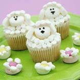 another sheep cupcake idea from ivillage