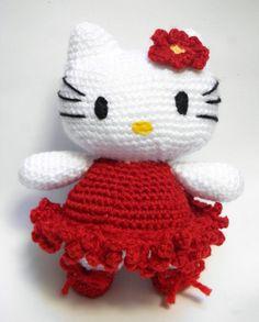 Hello Kitty Ballet Dancer/Amigurumi Japanese by Handmadebyvaly