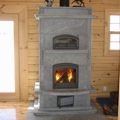 Tulikivi masonry heater with bake oven... my dream stove